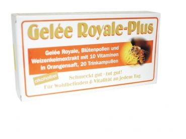 Gelee Royale Plus - Orange - 20 Trinkampullen