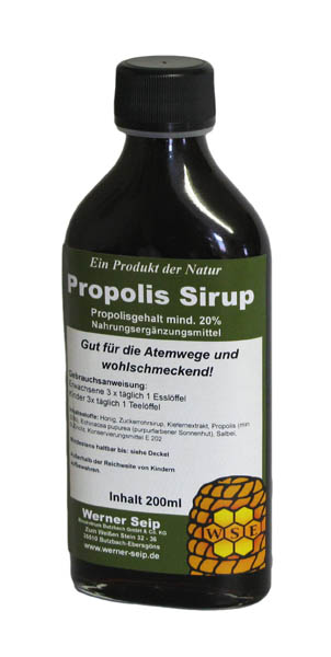 propolis sirup 200 ml bioprodukte naturmittel und bienenprodukte f r ihre gesundheit. Black Bedroom Furniture Sets. Home Design Ideas