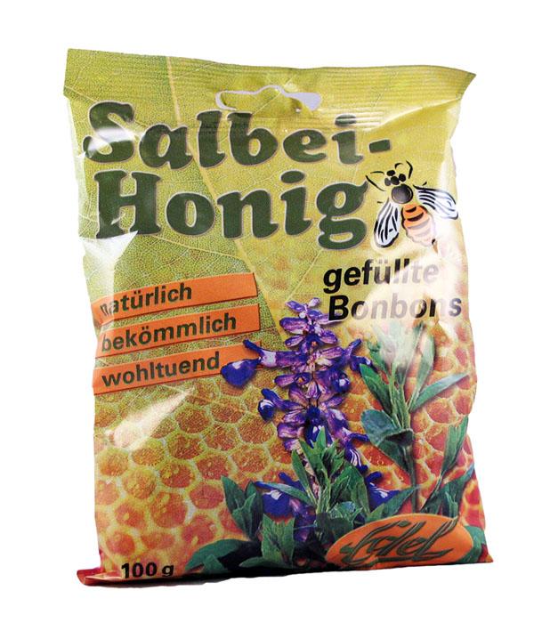 salbei honig bonbon 100 g bioprodukte naturmittel. Black Bedroom Furniture Sets. Home Design Ideas